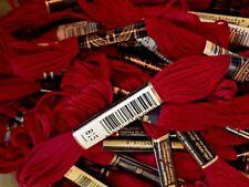 DMC Medium Garnet 815 Cotton Floss Twelve Skeins 6 Strand Embroidery