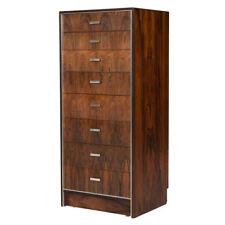 Falster Maurice Villency Rosewood Danish Modern High Dresser Credenza Cabinet