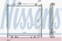 Nissens Radiator 647551 Fit with Toyota Land Cruiser 90