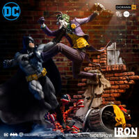 Iron Studios Batman vs Joker 1/6  Scale DC Comics Ivan Reis Diorama Sideshow New