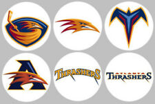 Atlanta Thrashers Set 6 Button or Magnet 1.25 inch
