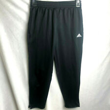 Adidas Climalite Jogger Sweatpants Boy's Medium Black Pockets Soccer