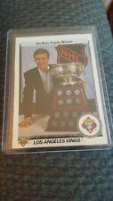 1990-91 Upper Deck AWARD WINNER ART ROSS TROPHY Wayne Gretzky Los Angeles Kings