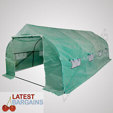 6x3m Walk In Greenhouse Garden Green Hot House Plant Shed Storage Tunnel