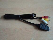 Av Audio Video TV Cable Lead Para Super Nintendo Gamecube N64-SNES GC 64 Reino Unido