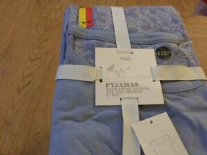 Marks and Spencer Top and Shorts Pyjamas Pack New Size 16-18