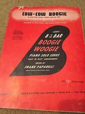 """1943 """"COW-COW BOOGIE"""" BOOGIE WOOGIE SHEET MUSIC LEEDS 8 TO THE BAR SERIES"""
