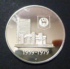 Malaysia 1 Ringgit Silver PROOF 20th Bank Negara Malaysia (BNM) w/o cert & case