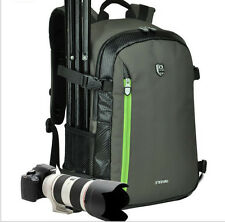 Waterproof DSLR Camera Backpack Travel Rucksack Bag Case For Canon Nikon Sony