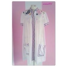 ❤️Malene Birger Kleid Bluse Longbluse Stickerei Bestickt Boho free People Style