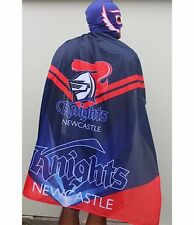 NRL Masked Mape Cape - Newcastle Knights - Game Day - BNWT