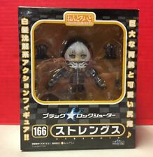 Nendoroid Black Rock Shooter Strength 166 Anime Chibi Figure Japan Good Smile Co