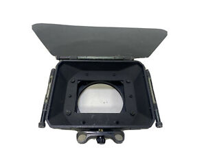 Camera matte box with 2 4x4 filter traysfor 15mm rods