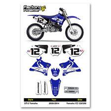 2006-2017 YAMAHA YZ 125 250 GYTR Graphics Kit Motocross Graphics Enjoy