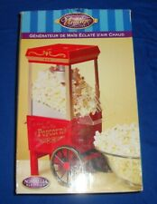 Nostalgia Electrics Old Fashioned Hot Air Popcorn Maker Cart NOS