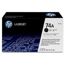 Recharges et kits de toner noire HP pour imprimante