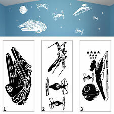 Star Wars Battle Wall Art Vinyl Decal Sticker Childs Room Bedroom Playroom Gift