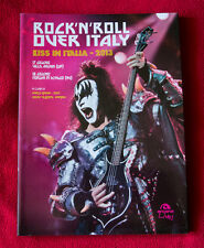 KISS in ITALIA ROCK'n'ROLL OVER ITALY Libro BOOK Arcana pop rock