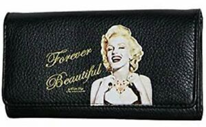 """Marilyn Monroe """"Forever Beautiful"""" Faux Wallet New    faux leather"""