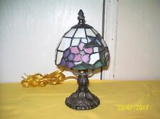 Tiffany Style Stained Glass Small Accent Table Desk Lamp Night Light