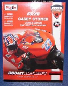 CASEY STONER No 27 - 2007 Moto GP World Champion Ducati Desmosedici Ltd Edition
