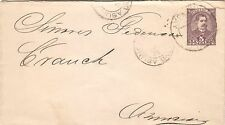 PARAGUAY - 1898 5 cts BROWN U.P.U. STATIONERY COVER TO ASUNCION