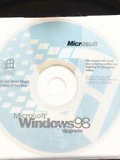Microsoft Windows 98 upgrade  CD-ROM CD