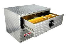 Truck Tool Box, HD Jumbo 36x24x24 Underbody Toolbox, Two Drawers. Flat Bed too.