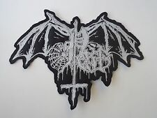 PEST BLACK METAL EMBROIDERED BACK PATCH
