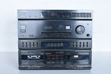PIONEER Stereo Cassette Tape Double Deck Receiver RX-711 / Graphic Equalizer