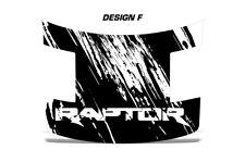 Ford Raptor F150 SVT Truck Full Hood Wrap Graphic Sticker Decal 2010-2014 DIGI