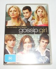 DVD - Gossip Girl - 1st Season - 5 discs