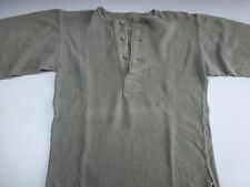 Swedish Army Collarless Shirt #8