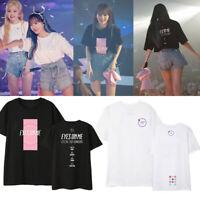 Kpop IZONE Concert Same T-shirt Unisex EYES ON ME Tshirt Kwon Eun Bi Kang Hye Wo