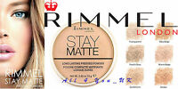 Rimmel London Stay Matte Long Lasting Pressed Powder 14.0g~~Please Choose Shade