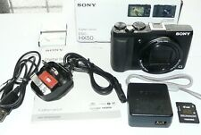 Sony Cyber-Shot DSC-HX50 - 20.4Mp 30x/60x Zoom Digital Camera - Black