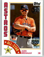 2019 Topps Series 2 1984 All-Star 150th Anniversary /150 ALEX BREGMAN Astros