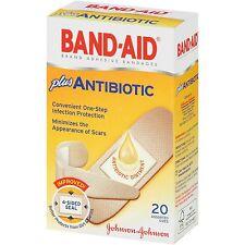 BAND-AID Brand Antibiotic Adhesive Bandages