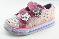 Skechers Pink Synthetic Casual Shoes Toddler Girls Sz 5