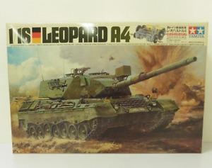 Tamiya vintage 1/16 LEOPARD A4 Tank NIB