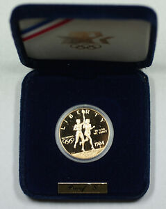 1984-S $10 Gold Eagle Proof Olympic Commemorative Coin No Outer Box or COA