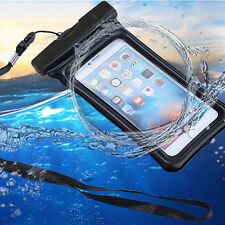 Waterproof Underwater Float Case Dry Bag Pack Pouch iPhone 8/7 Plus Samsung S9+