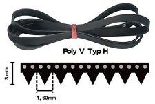 1051 H8 MA Poly-V Keilriemen 1051H8EL Antriebsriemen für Waschmaschine+Trockner