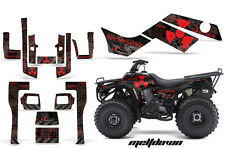 Kawasaki Bayou 250/300 AMR Racing Graphic Kit Wrap Quad Decals ATV 03-12 MLTDWN