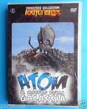 atom il mostro della galassia gezora ganime kameba science fiction fantascienza