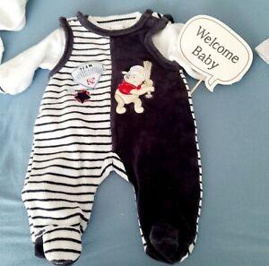 Gr.56 Disney Baby Strampler 2tlg Nicki 🌟