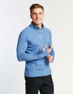 Solbari UV Sun Protection Men's Long Sleeve Quarter Zip Top UPF 50+ Active