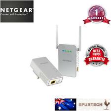 Netgear PLW1000 AV1000 Powerline Ethernet Adapter + 633Mbps AC WIFI Extender AP