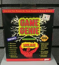 Game Gear Game Genie | New & Sealed  | SEGA GG | Rare Find | Great Condition
