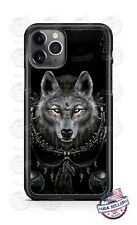 Native Indian Wolf Dog Phone Case Cover For iPhone 11 Pro Samsung LG Google 4XL